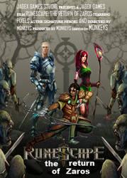 Reupload: Runescape Movie Poster by Nerd-Artist23