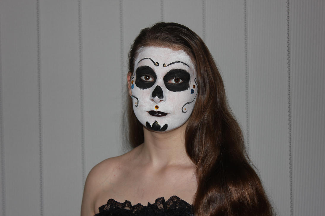 Mexican Skull Makeup by BreeHalo