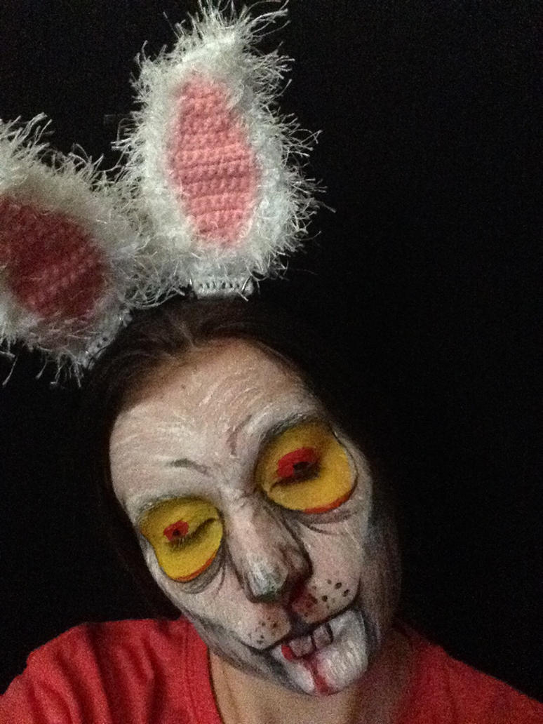 Easter Bunny - Creepy by BreeHalo