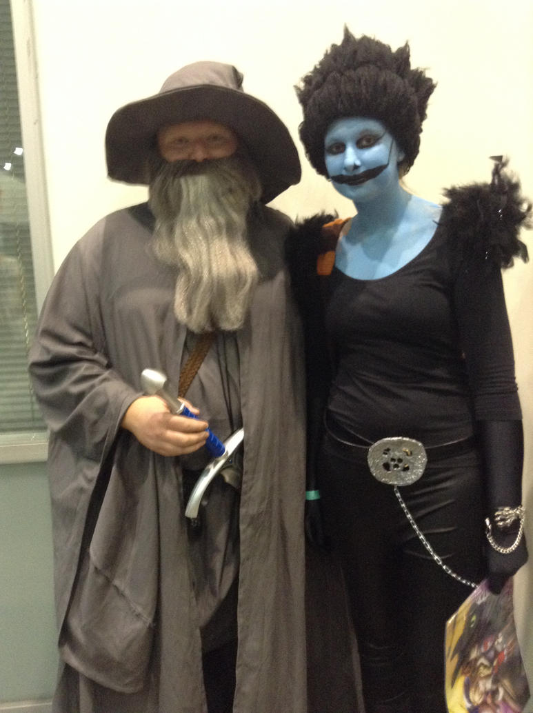 Gandalf and Ryuk by BreeHalo