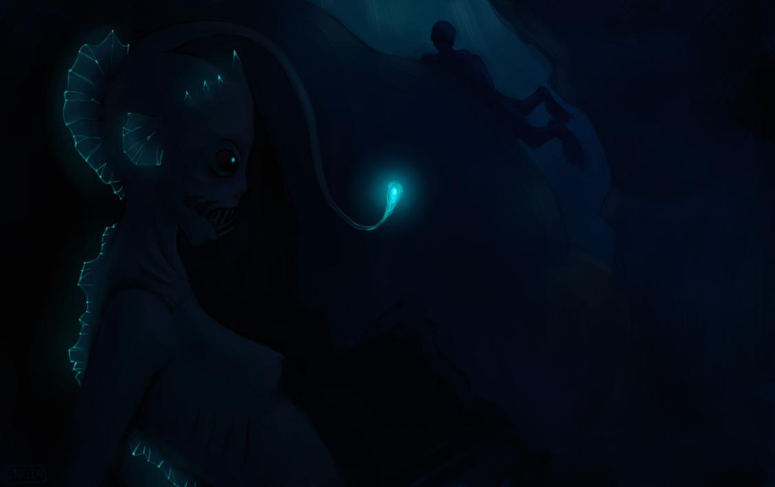 Deep sea mermaid by Enginveit on DeviantArt
