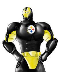 Iron Man: Steelers Version by kittysenshi