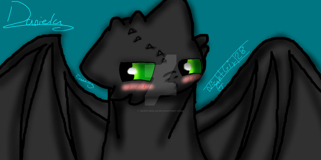 Toothless (Chimuelo) by NightGirl28