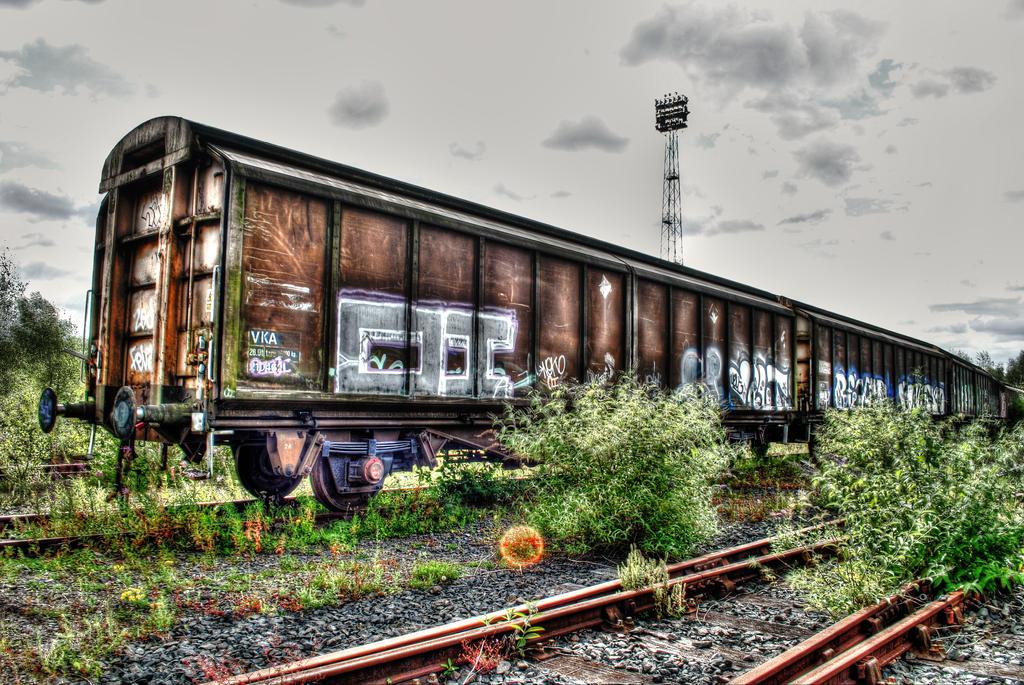 Old train by M00N-flower