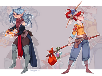 [Open 1/2] Character Adopt #4 - Set Price by larighne