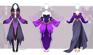 [Open OTA! ] Outfit adopt #2/19 by larighne