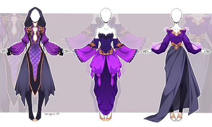 [Open 1/3] Outfit adopt #2/19 - Auction by larighne