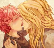 passion kiss by Simuja