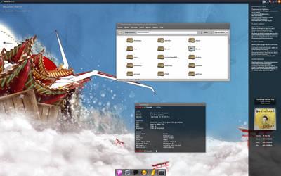 23.12.08 Zen Desktop by HellsDark