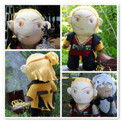 His Chestliness, Varric DAII by VineyardElf