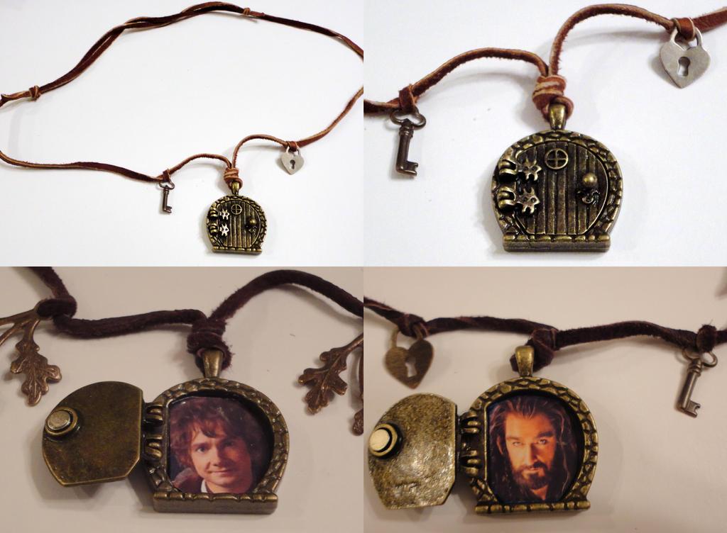 Etsy: Hobbit Bag End Character Locket Bronze by VineyardElf