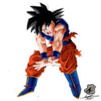 Goku by thiagol