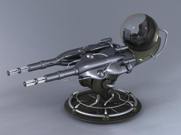 Gatling Plasma Cannon Turret By Inquisitor No 7 On Deviantart