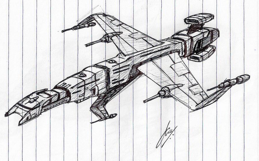 """Echelon"" Assault Cruiser WIP by Inquisitor-No-7"