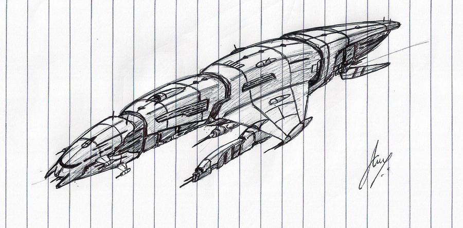 """Dreadlord"" Battleship WIP by Inquisitor-No-7"