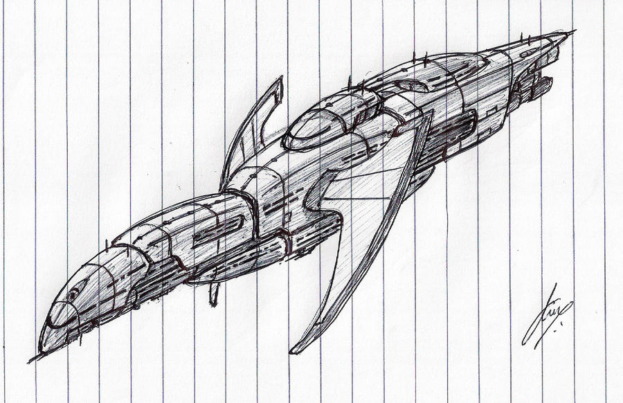 'Doomlord' Battleship WIP by Inquisitor-No-7
