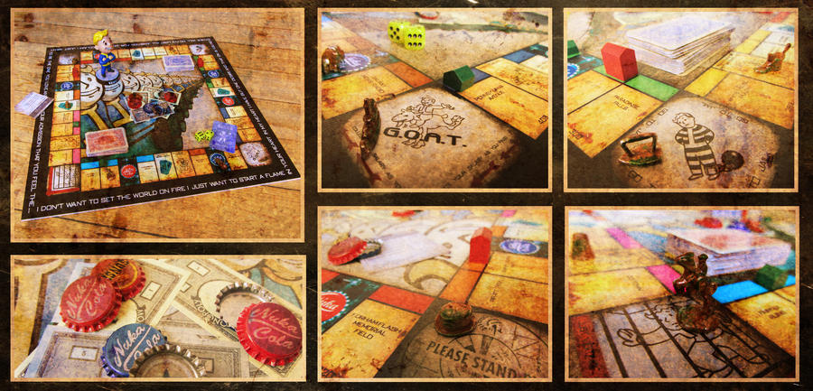 Fallout Monopoly by PinkAxolotl