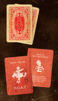 Fallout Monopoly red Cards