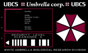 Umbrella ID card by PinkAxolotl