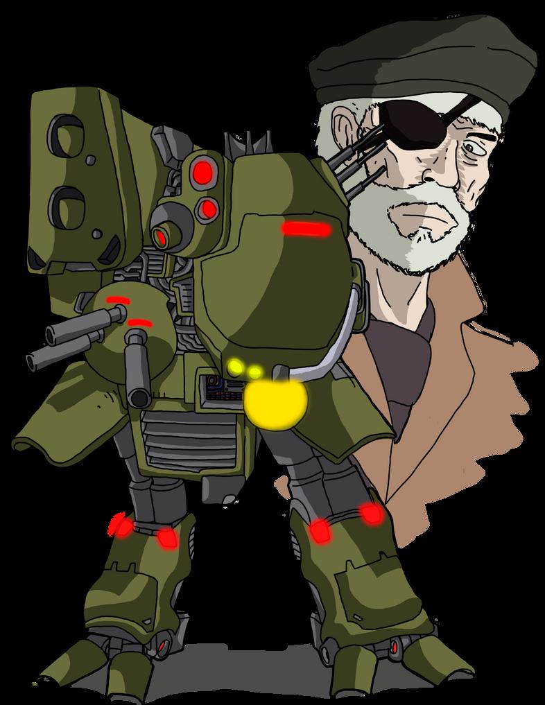 Metal Gear TX-55 [Metal Gear-1873] By C-Noar On DeviantArt