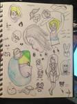 Sketches 2/7 + 2/10 by TDrawsFandoms