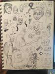Sketches (2/13, 2/16, + 2/20) by TDrawsFandoms