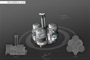 Concept Art RS 508-E unit by dematics