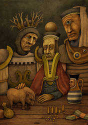 The Money Lender by DaveWhitlam