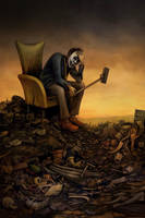 The Post Apocalyptic Selfie by DaveWhitlam