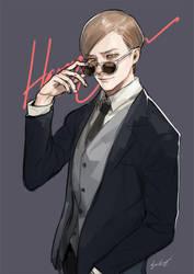 Harry Osborn by sine-eang