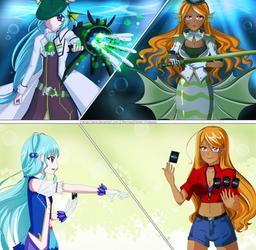 Ladies of the Seven Seas || Aqua Force Battle