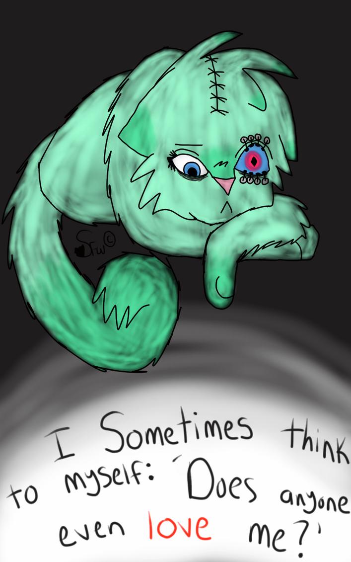 I Sometimes Think To Myself... by StormFemaleWolf