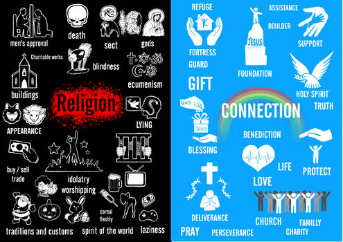 religion vs connection