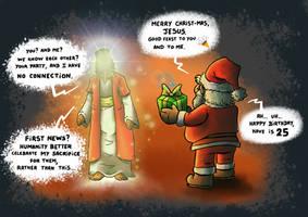 jesus vs christmas