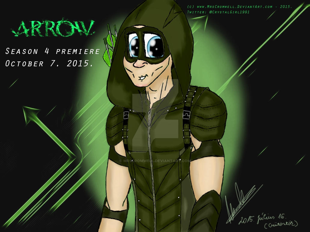Arrow Season 4 Poster By MrsCromwell