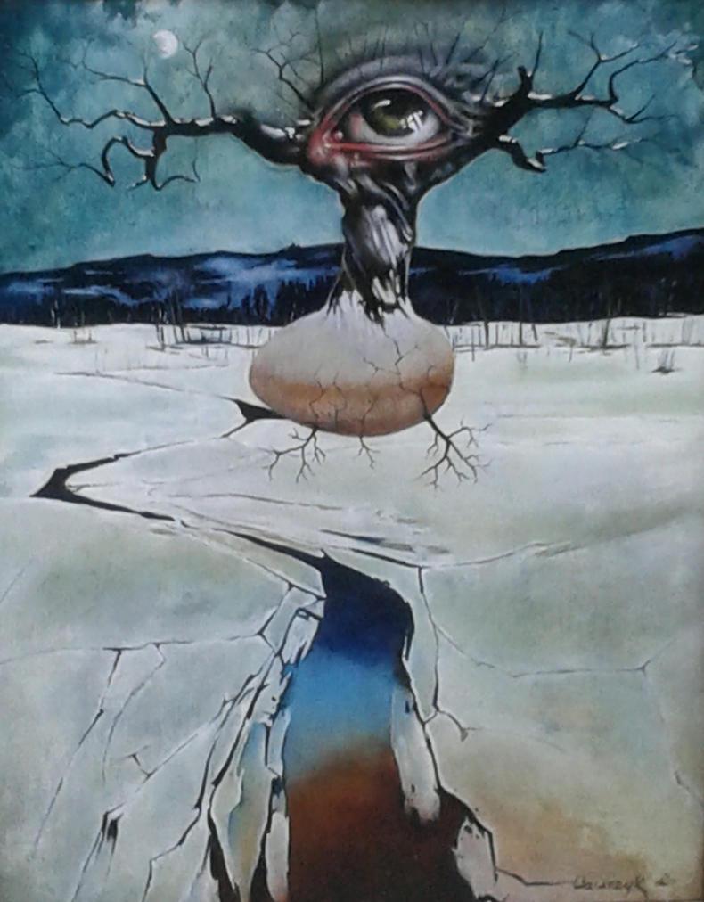 Birth of a tree by leszekwawrzyk