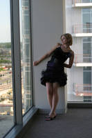 High Above a Big City in Texas by Neriah-stock