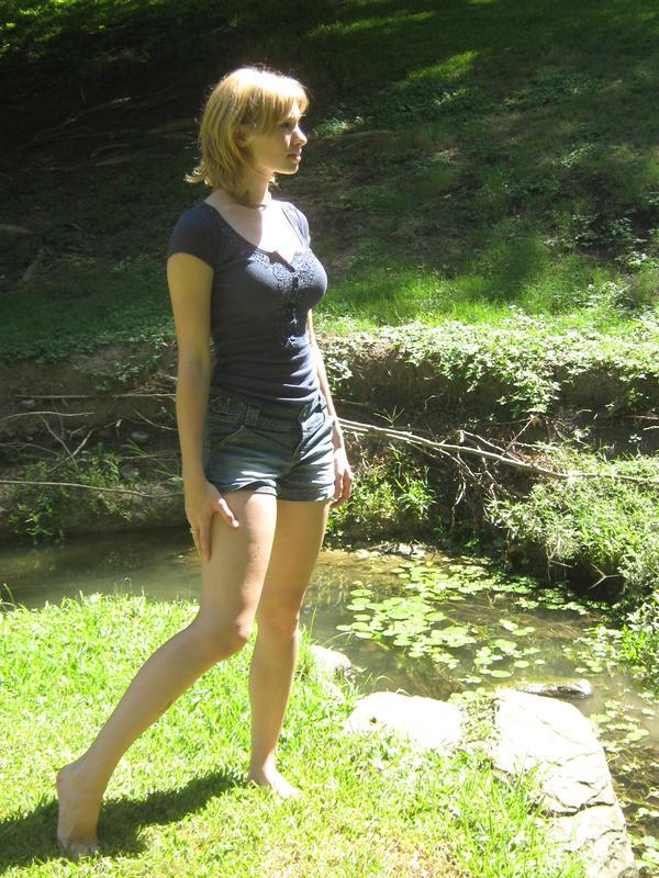 Me Standing Around by Neriah-stock