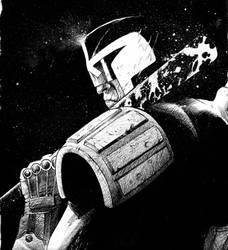 Judge Dredd by ArminOzdic