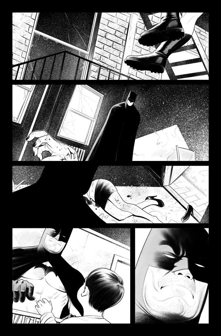 Batman Sample Page 3 by ArminOzdic