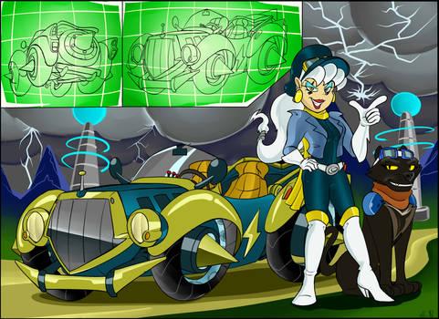 Robo-Toons in Raceing Car-toons #1