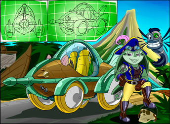 Robo-Toons in Raceing Car-toons #3 by gizmo01