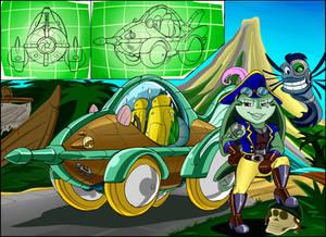 Robo-Toons in Raceing Car-toons #3