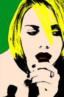 Scarlett Johansson Pop Art by NateJack