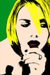 Scarlett Johansson Pop Art