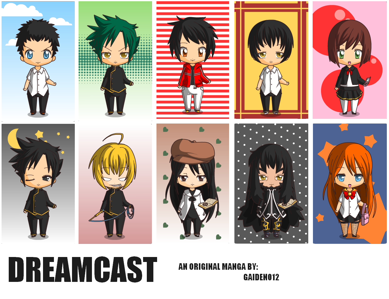 Anime Characters Born On June 8 : Dreamcast characters main by gaiden on deviantart