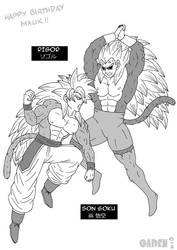 Ultimate Clash of Saiyans! by gaiden012