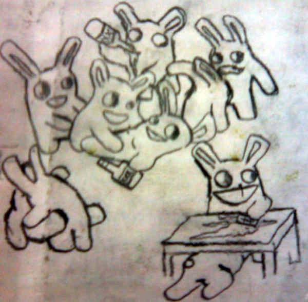 A fucking bunny orgy by Sakar0666