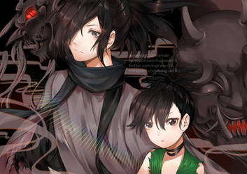 Dororo Evil behind us by AnRabi