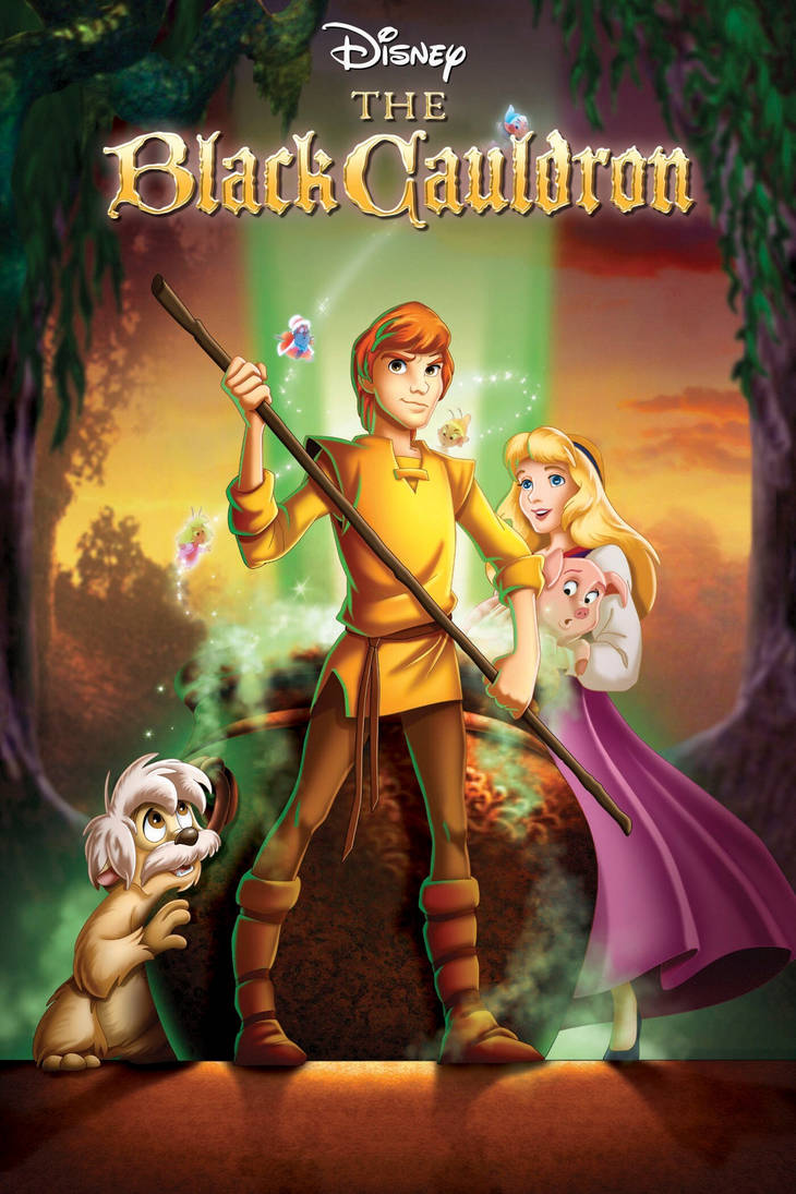 The Black Cauldron poster by Lady-Angelia-13